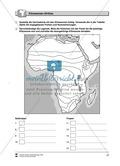 Kopiervorlage zum Klima des Kontinents Afrika: Lückentexte + Klimadiagramme + Karten Thumbnail 2
