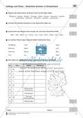 Lernzielkontrollen zur Topographie und Geomorphologie Deutschlands: Topographie Deutschlands + Küsten + Gebirge und Flüsse Thumbnail 15