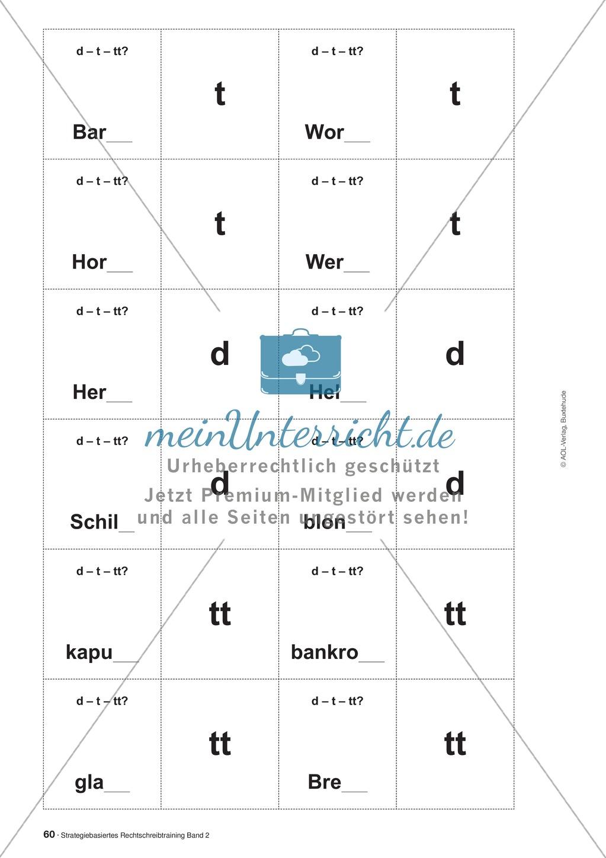 Rechtschreibung: Wörter verlängern - Das Peteka-Signal - Auslautverhärtung - Wissenschaftliche Grundlagen und Arbeitsmaterialien Preview 12
