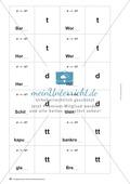 Rechtschreibung: Wörter verlängern - Das Peteka-Signal - Auslautverhärtung - Wissenschaftliche Grundlagen und Arbeitsmaterialien Thumbnail 12