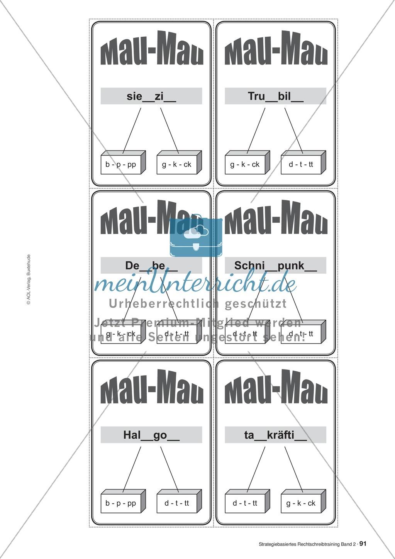 Rechtschreibung: Knackswörter - Wortbausteine - Morpheme - Wissenschaftliche Grundlagen, Arbeitsmaterialien und Kartenspiel Preview 11
