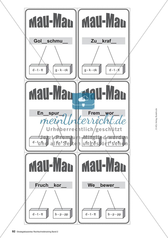 Rechtschreibung: Knackswörter - Wortbausteine - Morpheme - Wissenschaftliche Grundlagen, Arbeitsmaterialien und Kartenspiel Preview 12
