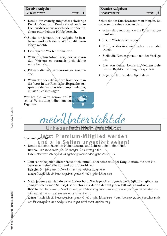 Rechtschreibung: Knackswörter - Wortbausteine - Morpheme - Wissenschaftliche Grundlagen, Arbeitsmaterialien und Kartenspiel Preview 19