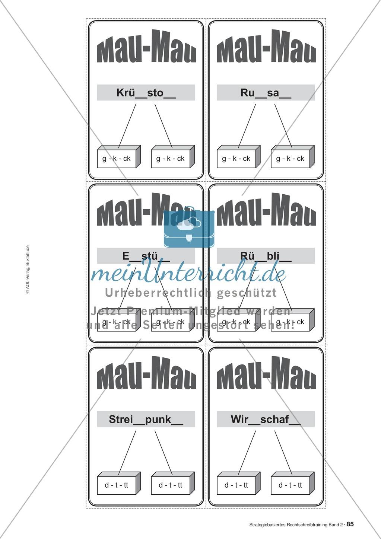 Rechtschreibung: Knackswörter - Wortbausteine - Morpheme - Wissenschaftliche Grundlagen, Arbeitsmaterialien und Kartenspiel Preview 5