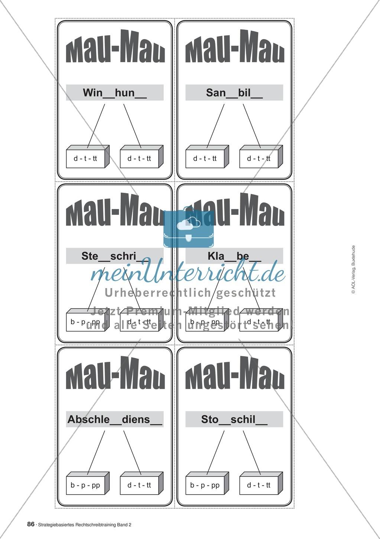 Rechtschreibung: Knackswörter - Wortbausteine - Morpheme - Wissenschaftliche Grundlagen, Arbeitsmaterialien und Kartenspiel Preview 6