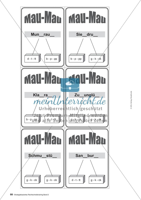 Rechtschreibung: Knackswörter - Wortbausteine - Morpheme - Wissenschaftliche Grundlagen, Arbeitsmaterialien und Kartenspiel Preview 8