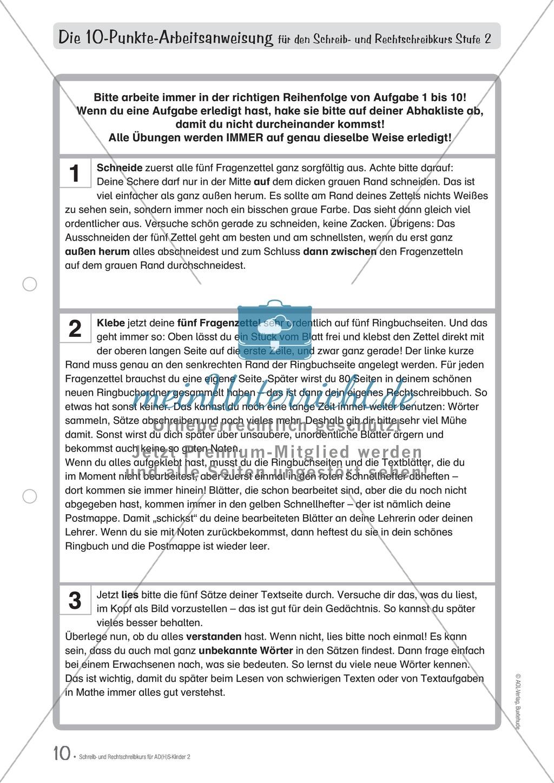 Wie Schüler mit ADS/ADHS zur Rechtschreibübung motiviert werden können Preview 2
