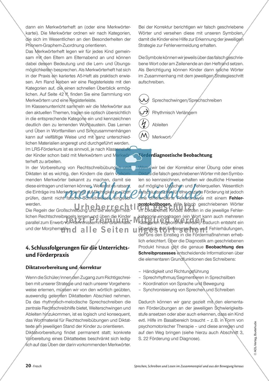 Infotext: Sprechen, Schreiben und Lesen im Zusammenspiel und  aus der Bewegung heraus Preview 6