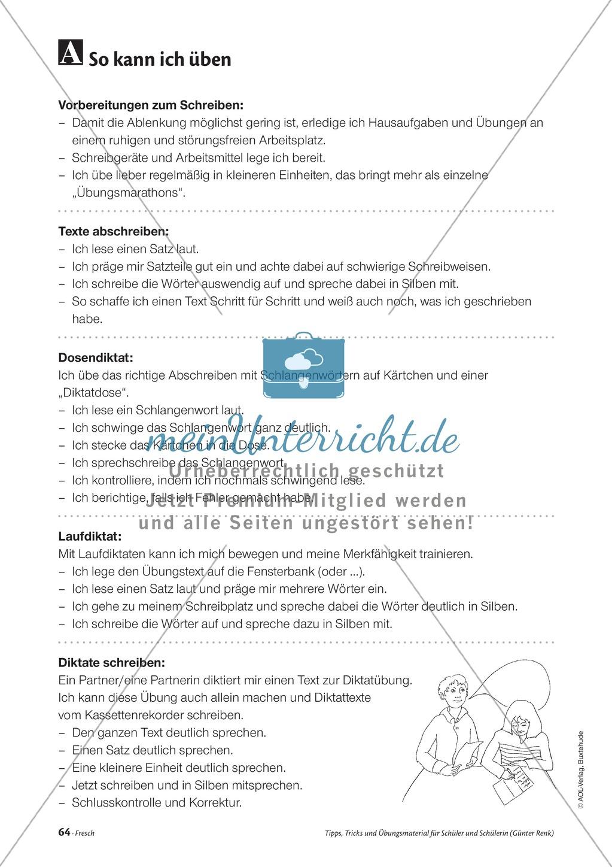 Elementares Lesetraining. Mit Infotext, Beispielen und Tipps für Schüler. Preview 5