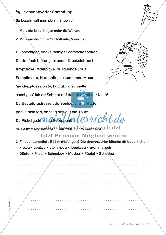 Rechtschreibübungen für Kinder mit LRS: kreative Übungen der FRESCH-Methode Preview 10