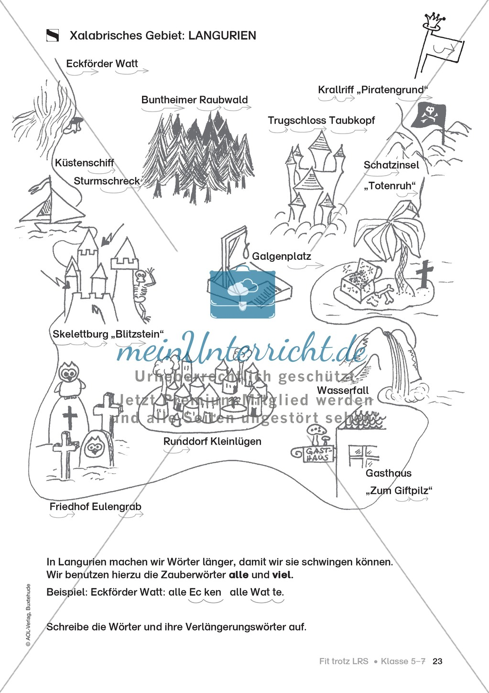 Rechtschreibübungen für Kinder mit LRS: kreative Übungen der FRESCH-Methode Preview 15