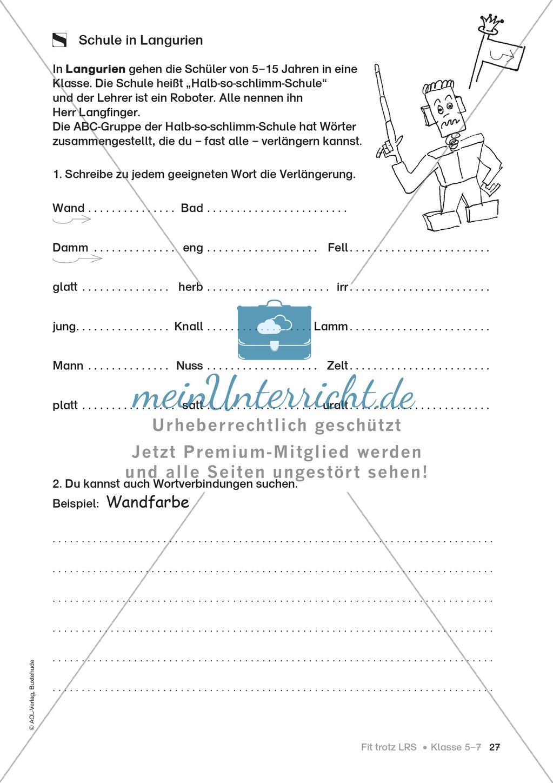 Rechtschreibübungen für Kinder mit LRS: kreative Übungen der FRESCH-Methode Preview 19