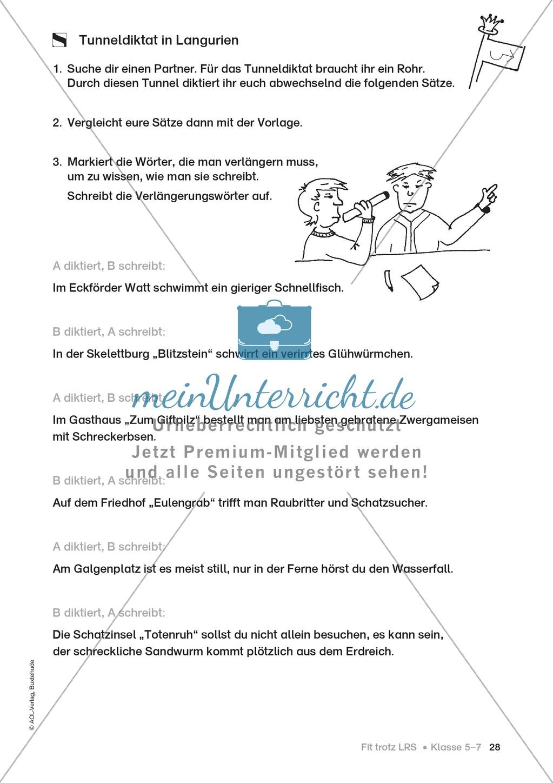 Rechtschreibübungen für Kinder mit LRS: kreative Übungen der FRESCH-Methode Preview 20