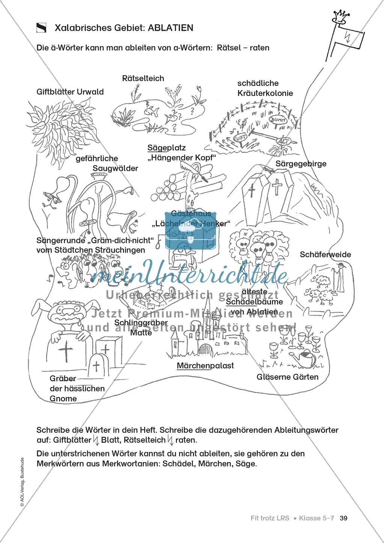 Rechtschreibübungen für Kinder mit LRS: kreative Übungen der FRESCH-Methode Preview 31