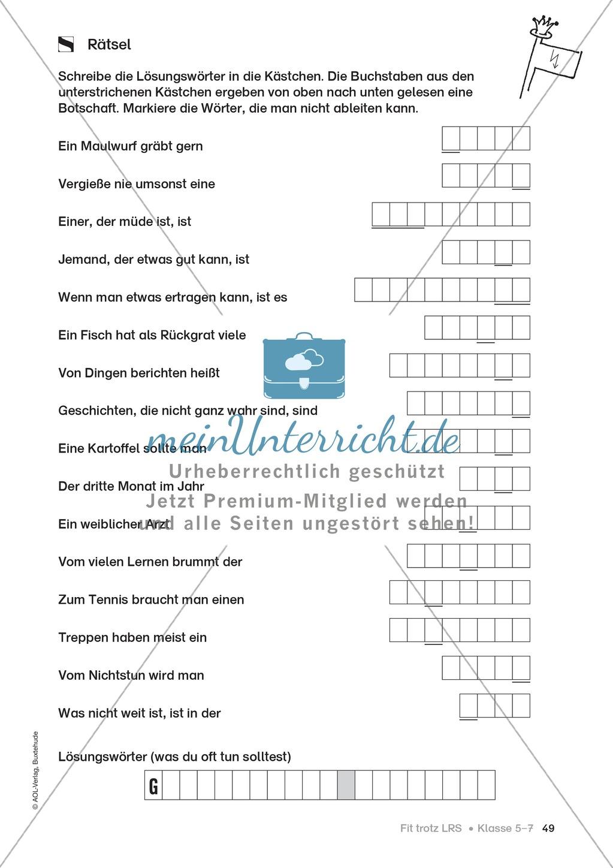 Rechtschreibübungen für Kinder mit LRS: kreative Übungen der FRESCH-Methode Preview 41