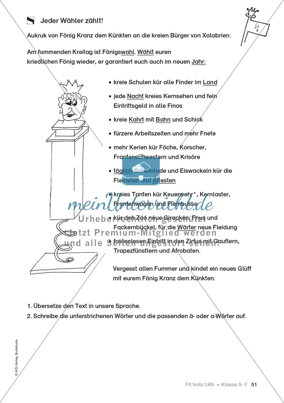 Rechtschreibübungen für Kinder mit LRS: kreative Übungen der FRESCH-Methode Preview 43