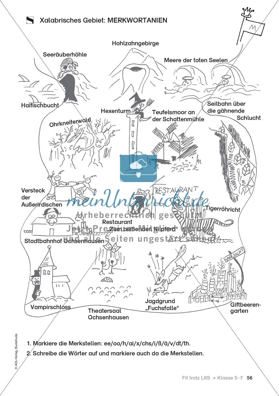 Rechtschreibübungen für Kinder mit LRS: kreative Übungen der FRESCH-Methode Preview 48