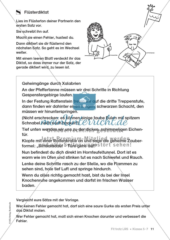 Rechtschreibübungen für Kinder mit LRS: kreative Übungen der FRESCH ...