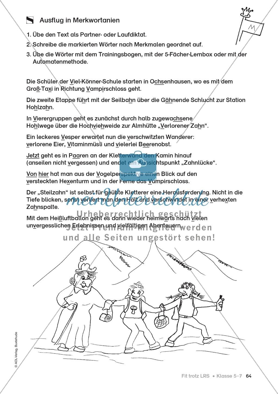 Rechtschreibübungen für Kinder mit LRS: kreative Übungen der FRESCH-Methode Preview 56