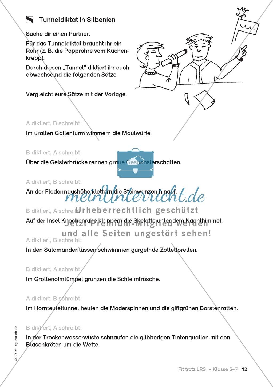 Rechtschreibübungen für Kinder mit LRS: kreative Übungen der FRESCH-Methode Preview 4