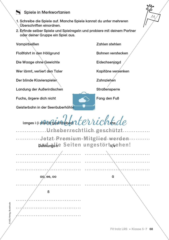 Rechtschreibübungen für Kinder mit LRS: kreative Übungen der FRESCH-Methode Preview 60