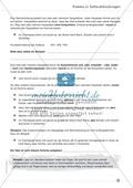Übungen zur Kommasetzung - Satzgefüge, Satzverbindungen, Muss- und Kann-Regel Preview 3