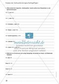 Übungen zur Kommasetzung - Satzgefüge, Satzverbindungen, Muss- und Kann-Regel Preview 4