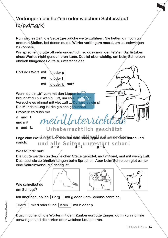 """Übungen für Kinder mit LRS: """"alle"""" und """"viel"""" als Verlängerungswörter zur richtigen Rechtschreibung verwenden Preview 15"""