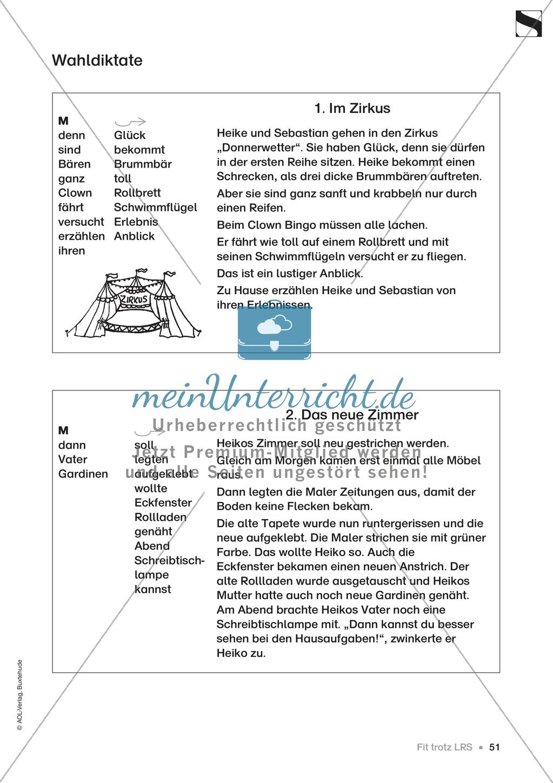 """Übungen für Kinder mit LRS: """"alle"""" und """"viel"""" als Verlängerungswörter zur richtigen Rechtschreibung verwenden Preview 22"""