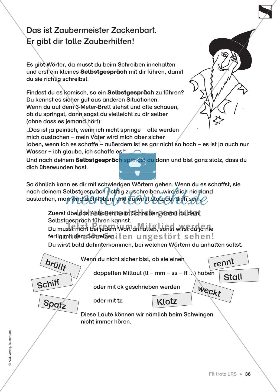 """Übungen für Kinder mit LRS: """"alle"""" und """"viel"""" als Verlängerungswörter zur richtigen Rechtschreibung verwenden Preview 7"""