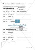 Übungen für Kinder mit LRS: Strategien für Rechtschreibübungen - Silbenschwingen, Verlängerungswörter, Merkwörter und Ableiten Preview 11