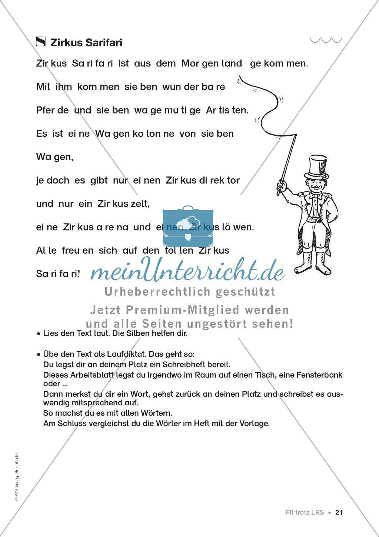 Übungen für Kinder mit LRS: Strategien für Rechtschreibübungen - Silbenschwingen, Verlängerungswörter, Merkwörter und Ableiten Preview 13
