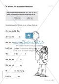 Übungen für Kinder mit LRS: Strategien für Rechtschreibübungen - Silbenschwingen, Verlängerungswörter, Merkwörter und Ableiten Preview 17