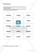 Übungen für Kinder mit LRS: Strategien für Rechtschreibübungen - Silbenschwingen, Verlängerungswörter, Merkwörter und Ableiten Preview 23