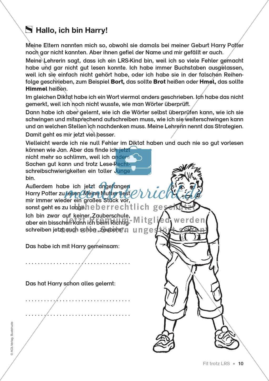 Übungen für Kinder mit LRS: Strategien für Rechtschreibübungen - Silbenschwingen, Verlängerungswörter, Merkwörter und Ableiten Preview 2