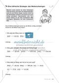 Übungen für Kinder mit LRS: Strategien für Rechtschreibübungen - Silbenschwingen, Verlängerungswörter, Merkwörter und Ableiten Preview 32