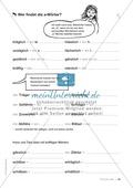 Übungen für Kinder mit LRS: Strategien für Rechtschreibübungen - Silbenschwingen, Verlängerungswörter, Merkwörter und Ableiten Preview 42