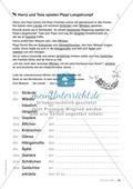 Übungen für Kinder mit LRS: Strategien für Rechtschreibübungen - Silbenschwingen, Verlängerungswörter, Merkwörter und Ableiten Preview 44