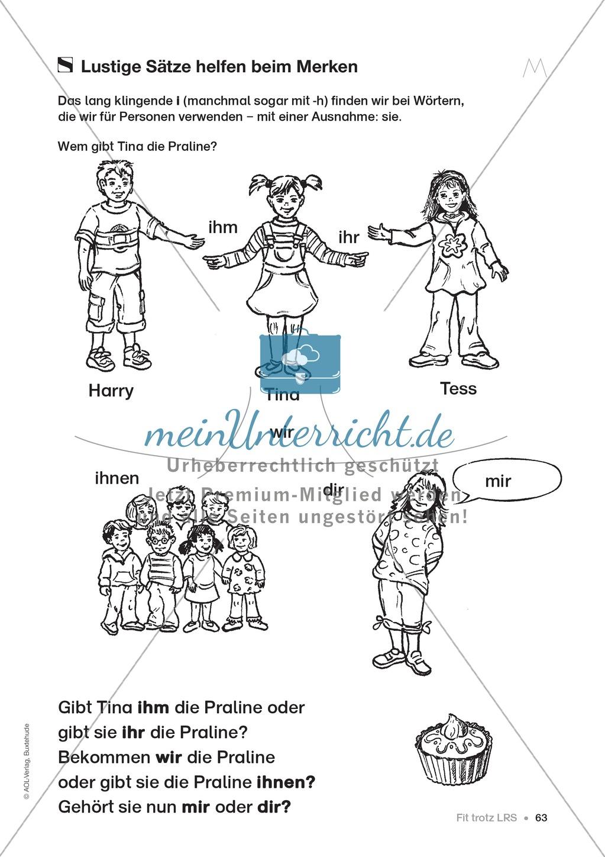 Übungen für Kinder mit LRS: Strategien für Rechtschreibübungen - Silbenschwingen, Verlängerungswörter, Merkwörter und Ableiten Preview 54