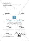 Übungen für Kinder mit LRS: Strategien für Rechtschreibübungen - Silbenschwingen, Verlängerungswörter, Merkwörter und Ableiten Preview 6