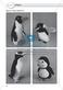 Gegenstände beschreiben - Türen-Domino, Beschreiben üben an Pinguinen, Puppen Thumbnail 4