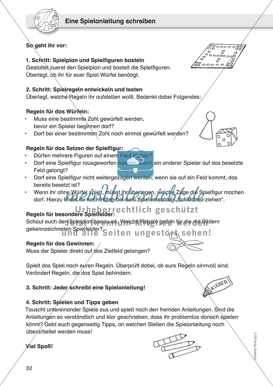 Spielanleitungen schreiben - vier Schritte zur guten Spielanleitung ...