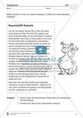 Einfache Sätze richtig schreiben: Übungsblätter zu  Satzgrenzen Preview 7