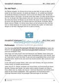 Einfache Sätze richtig schreiben: Übungsblätter zu  Satzgrenzen Preview 9