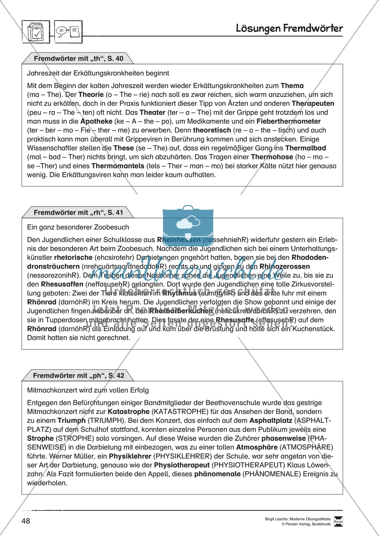 Übungsdiktate zum Üben von Fremdwörtern durchführen Preview 3