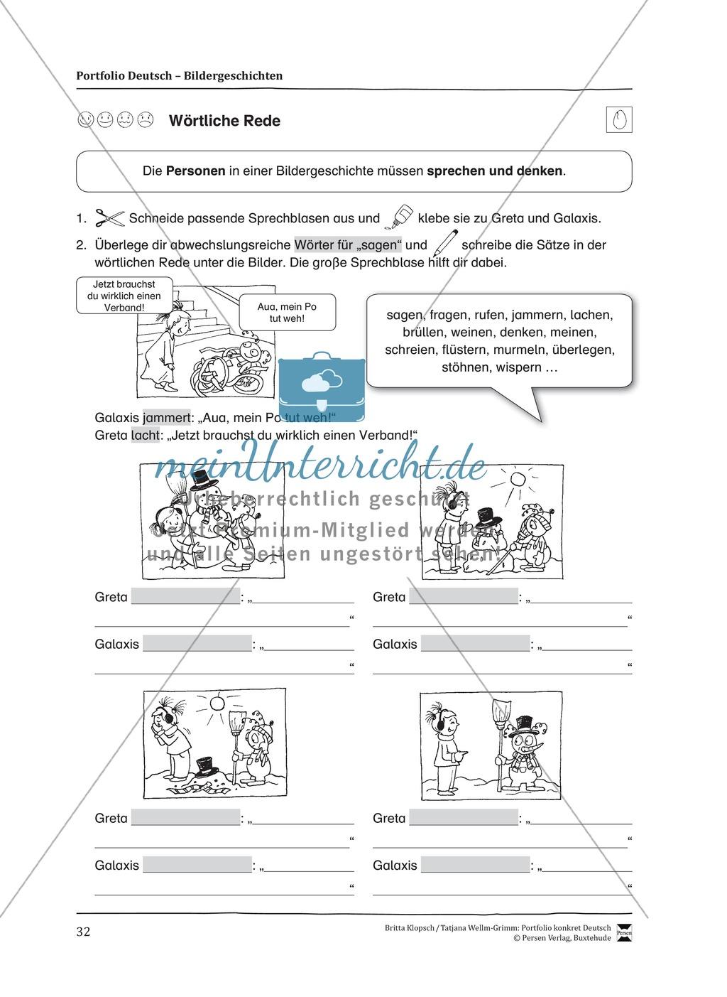 Kopiervorlagen für Aufsatzerziehung am Beispiel Bildergeschichte Preview 24
