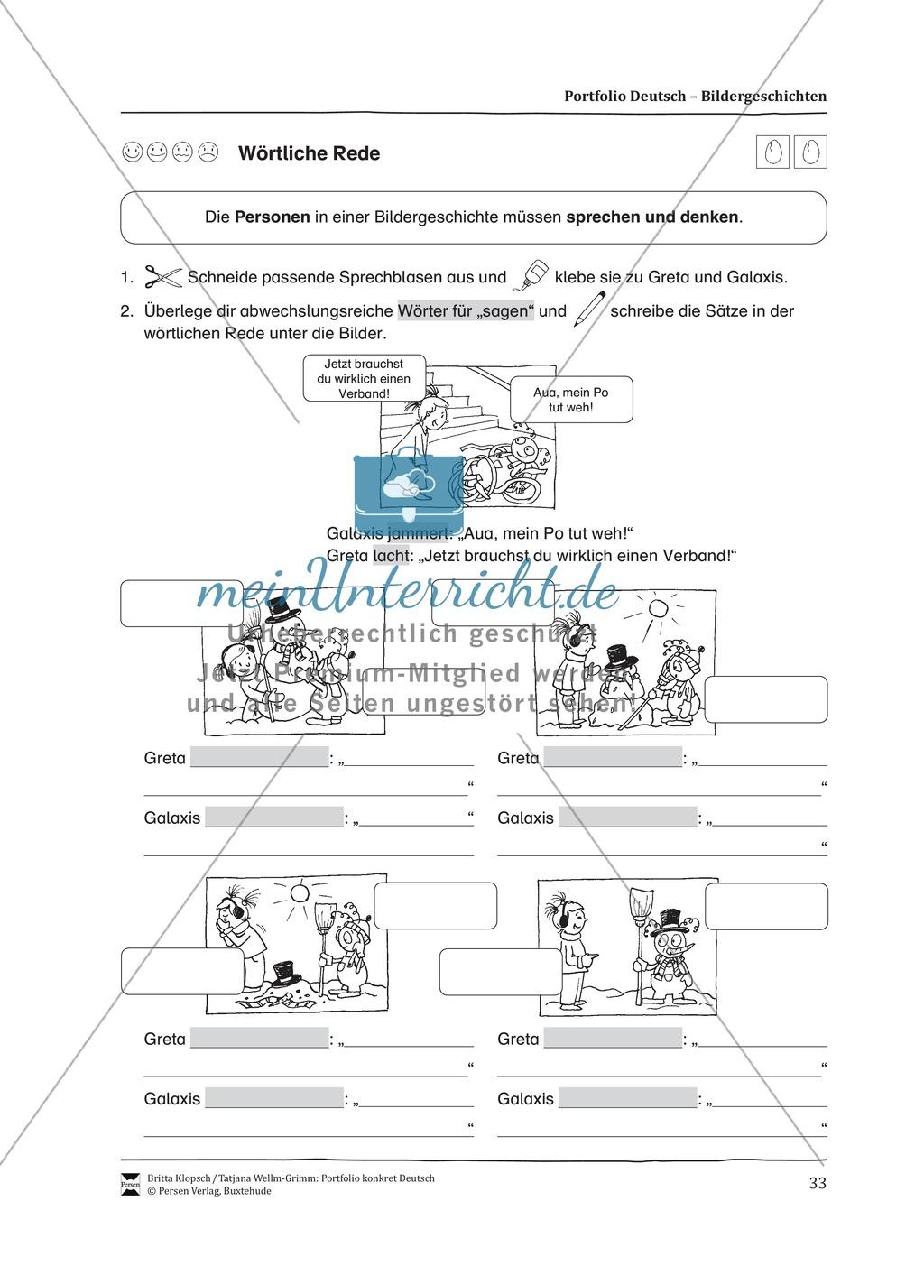 Kopiervorlagen für Aufsatzerziehung am Beispiel Bildergeschichte Preview 25