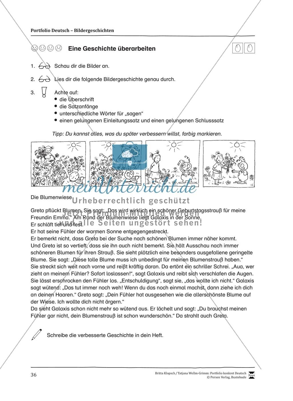 Kopiervorlagen für Aufsatzerziehung am Beispiel Bildergeschichte Preview 28