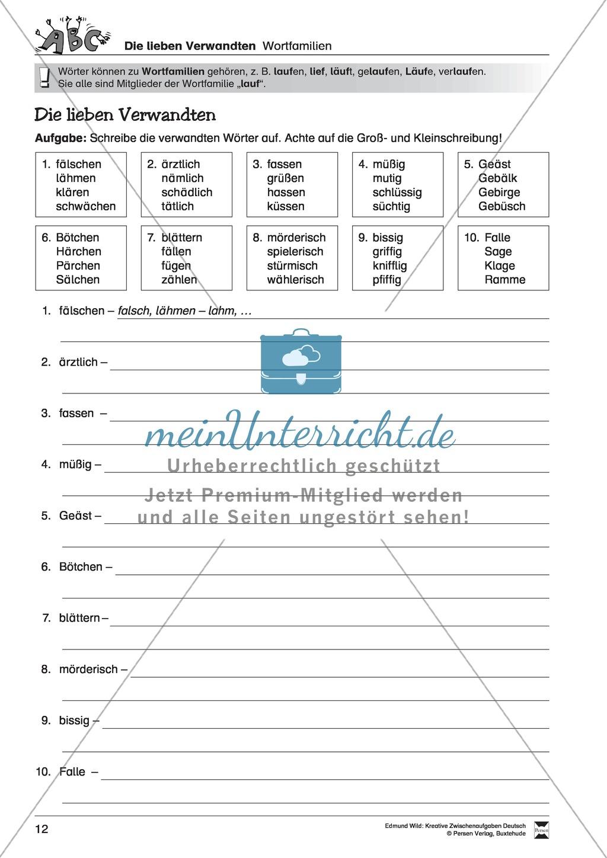 Kreative und spielerische Aufgaben zur Rechtschreibung lösen Preview 6