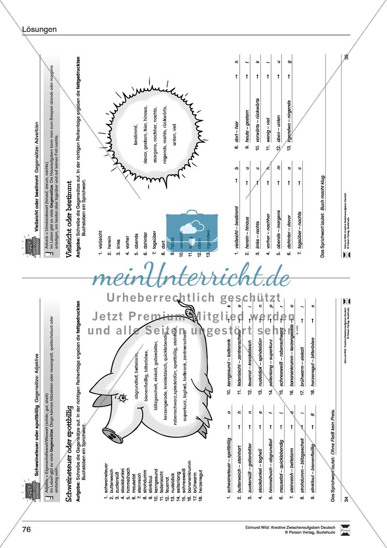 Kreative Aufgaben zum Erweitern des aktiven Wortschatzes Preview 20